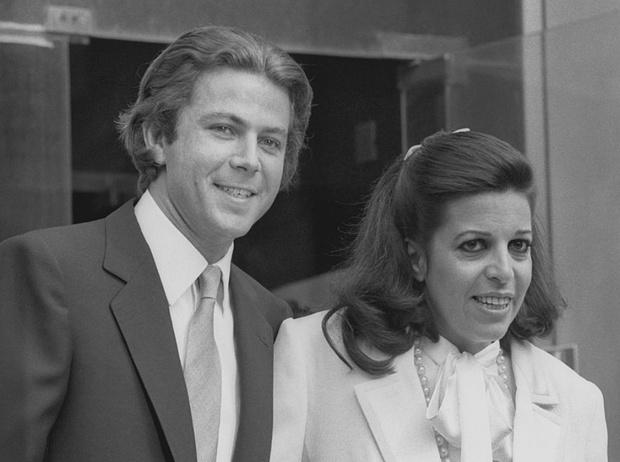Кристина Онассис и Тьерри Руссель, 19 марта 1984 год