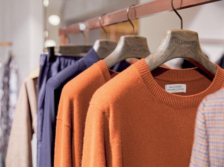 Фото №2 - Модный день в Falconeri: 3 полезных совета по выбору идеального кашемира
