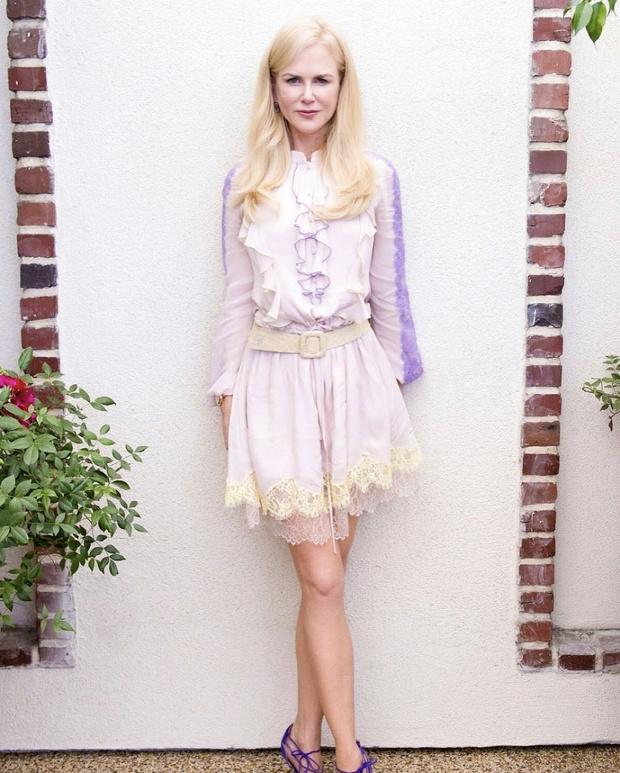 Фото №1 - Маленькое десертное платье Николь Кидман