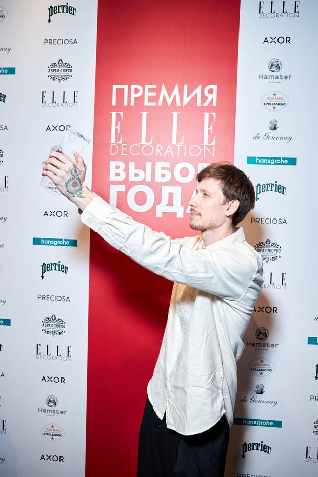 Фото №4 - VII церемония награждения победителей Премии ELLE DECORATION «Выбор года»