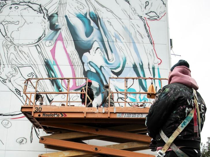 Фото №1 - Искусство на улицах: что нужно знать о новой работе Саши Купаляна «Душа воды»