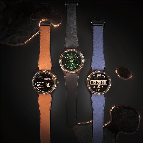 Фото №2 - Роскошь золота: как выглядят новые смарт-часы TAG Heuer Connected