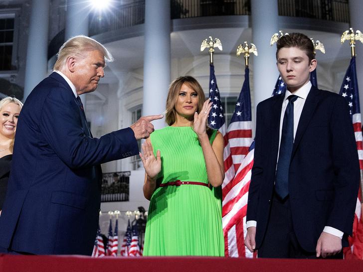 Фото №3 - Сын бывшего президента: что ждет Бэррона Трампа после Белого дома