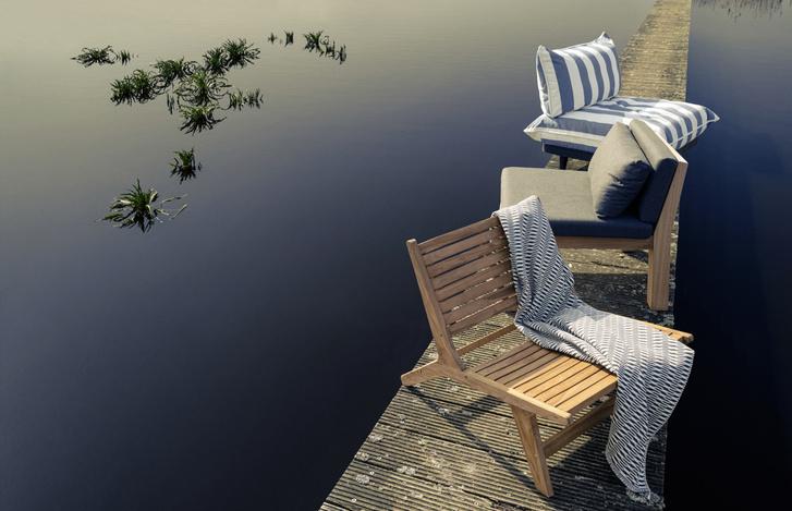 Фото №1 - Выбор ELLE DECORATION: лучшая мебель outdoor для жаркого лета