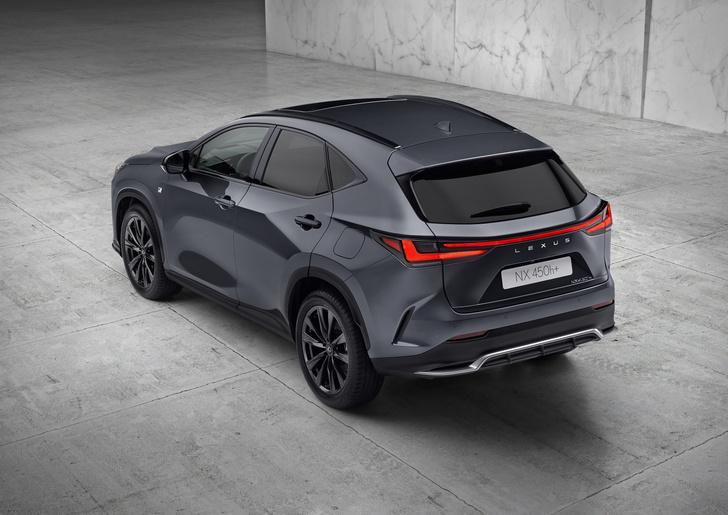 Фото №3 - Новый Lexus NX удивил классной системой мультимедиа