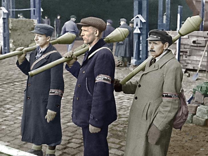 Фото №17 - 22 завораживающих цветных фото Второй мировой