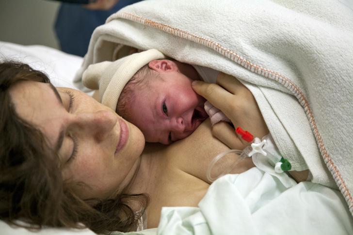 тело женщины после родов