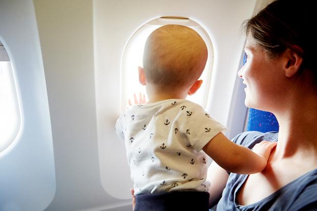 Фото №1 - Главные правила перелетов с детьми