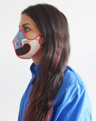 Фото №2 - Alcantara представляет: дизайнерские маски для лица