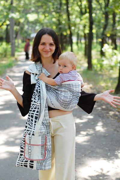 Фото №2 - Слинги: свободу маме!