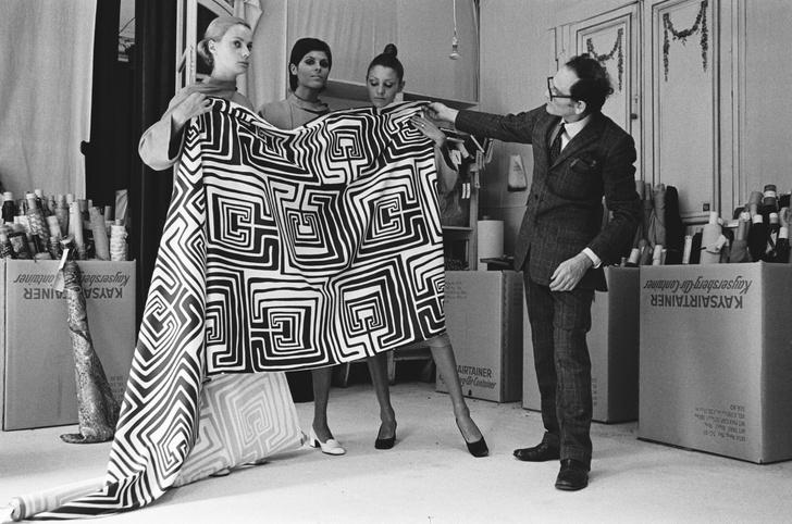 Фото №3 - Король футуризма: модные изобретения Пьера Кардена