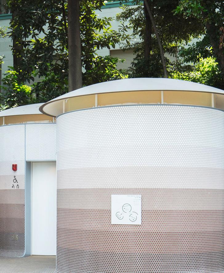 Фото №2 - Общественный туалет по проекту Тойо Ито в Японии