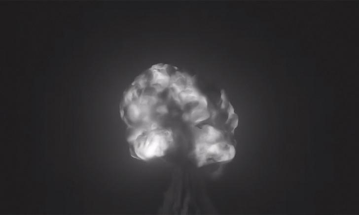 Фото №1 - Взрыв самой первой атомной бомбы (отреставрированное видео)