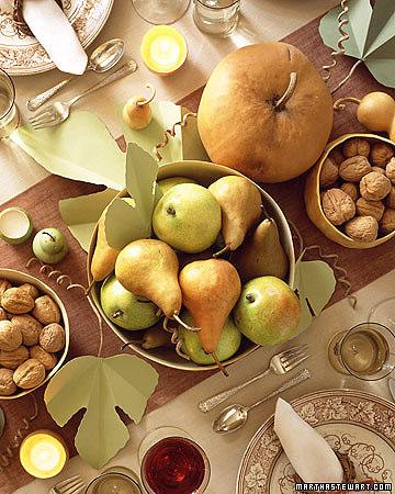 Фото №1 - Осенняя сервировка: 14 оригинальных идей