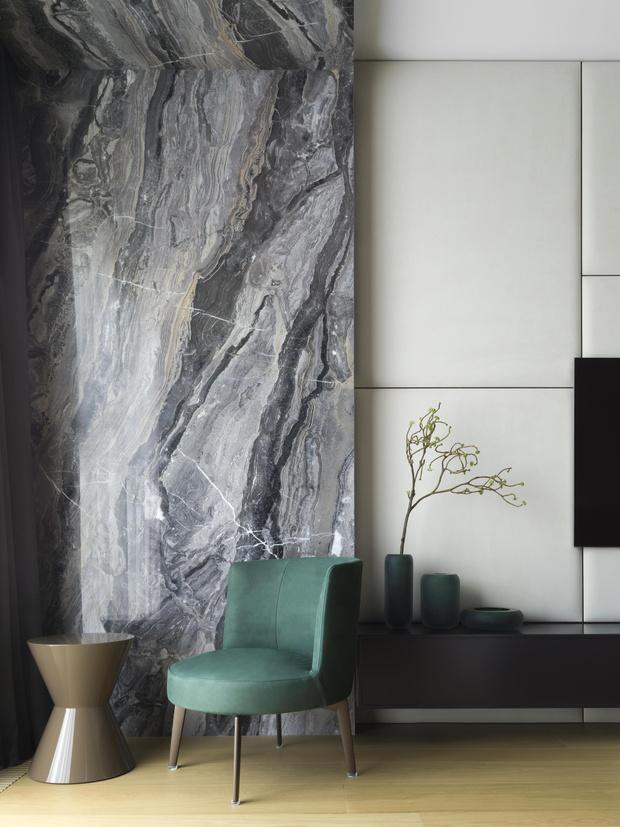 Фото №10 - Московская квартира 222 м² в стиле роскошный минимализм