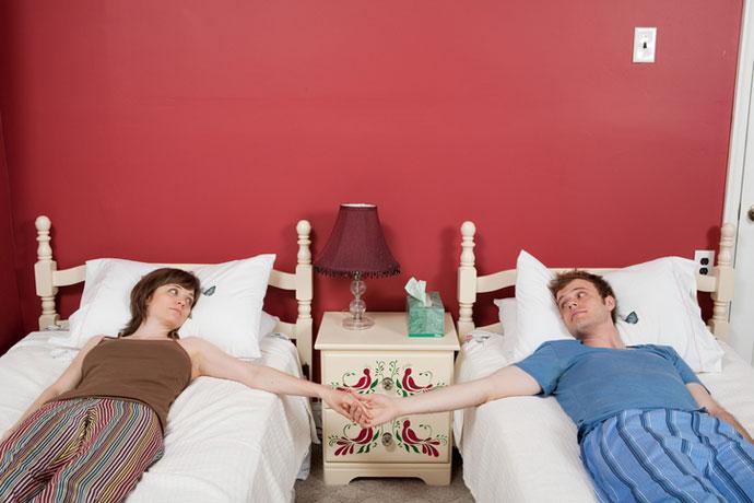 Мы с мужем спим в разных постелях и счастливы