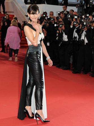 Фото №5 - За гранью: худшие наряды гостей Каннского кинофестиваля прошлых лет