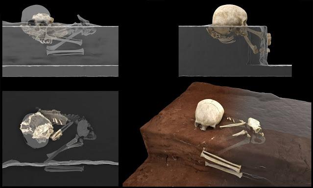 Фото №1 - Обнаружено древнейшее человеческое захоронение в Африке