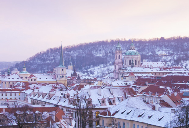 Прага на Новый год 2016