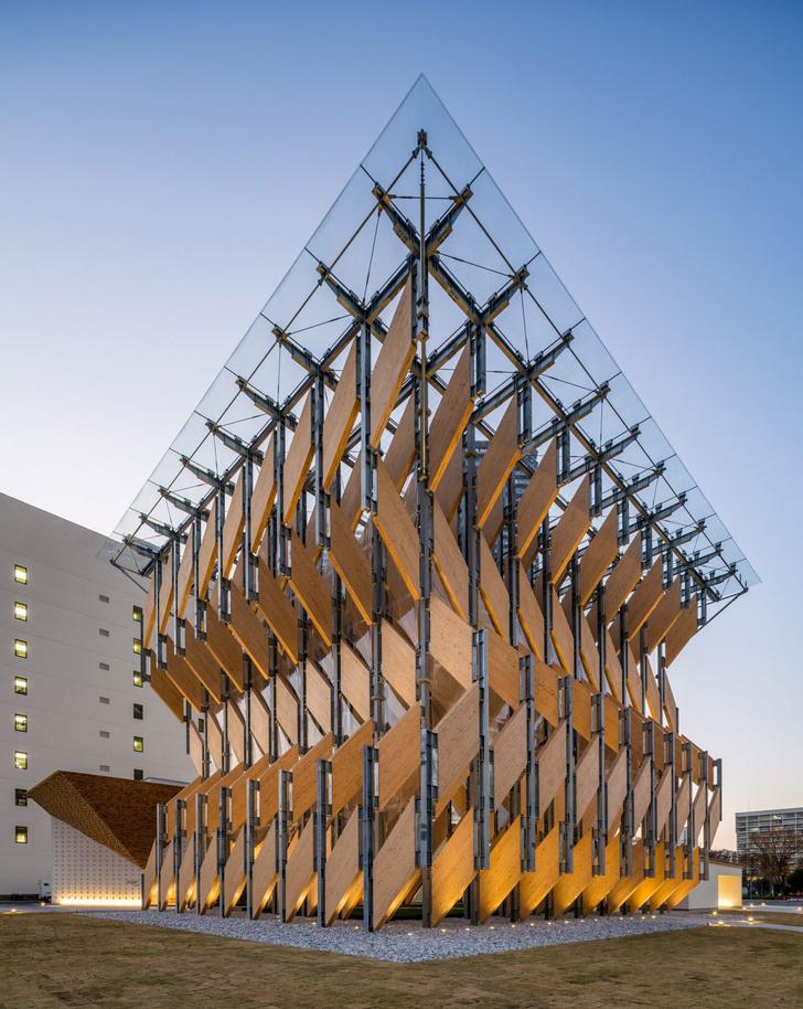 Фото №2 - Деревянный павильон по проекту Кенго Кумы в Токио