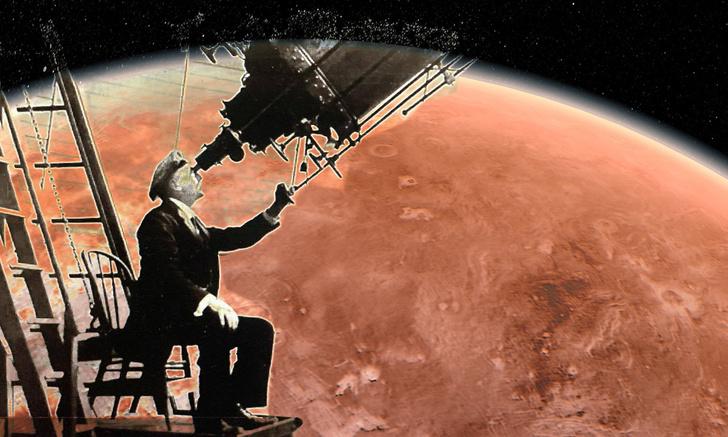 Фото №1 - Как астроном Персиваль Лоуэлл увидел на Венере таинственные спицы и чем они в итоге оказались