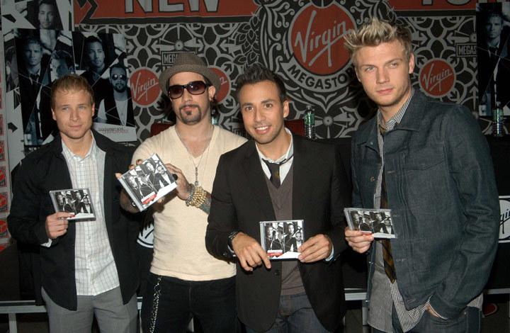 Фото №1 - Концерт Backstreet Boys в   в СК «Олимпийский»