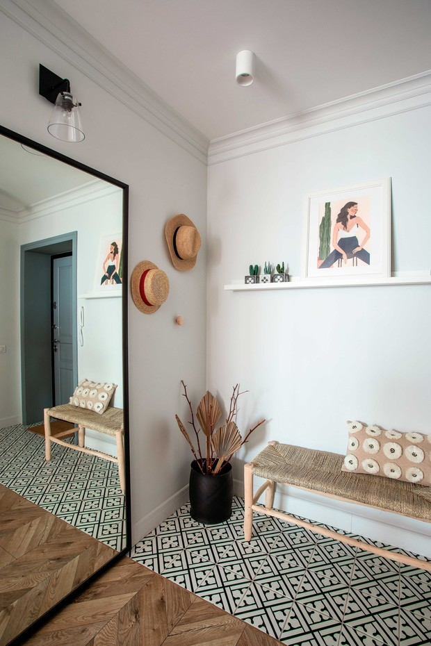 Фото №2 - Маленькая квартира в стиле бохо