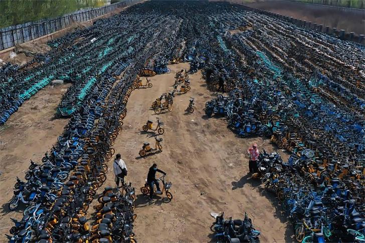 Фото №3 - Китайское кладбище велосипедов