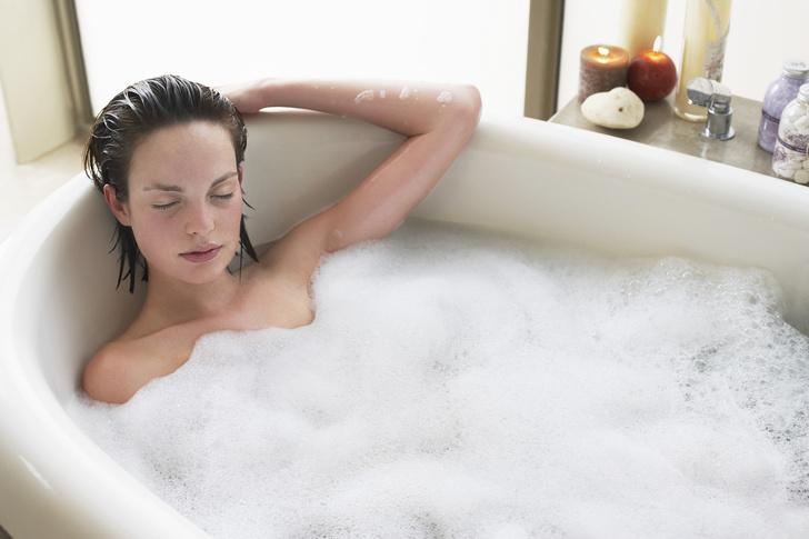 когда можно принимать ванну после кесарева