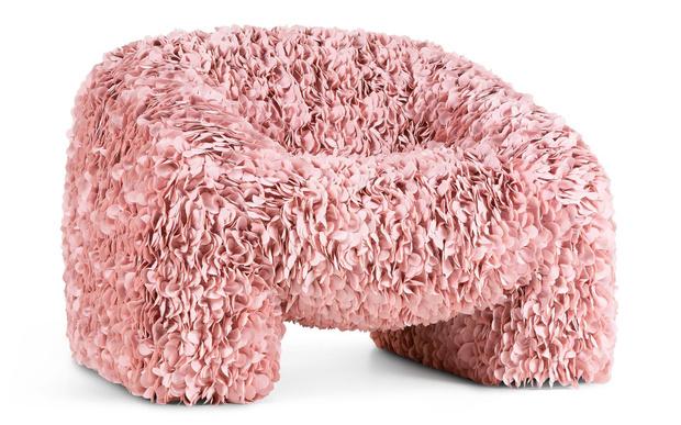 Фото №3 - Hortensia: новое кресло-цветок марки Moooi