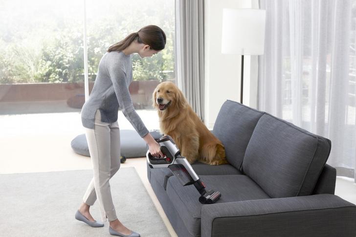 Фото №3 - Легко и быстро: убираем квартиру с новым вертикальным пылесосом Samsung