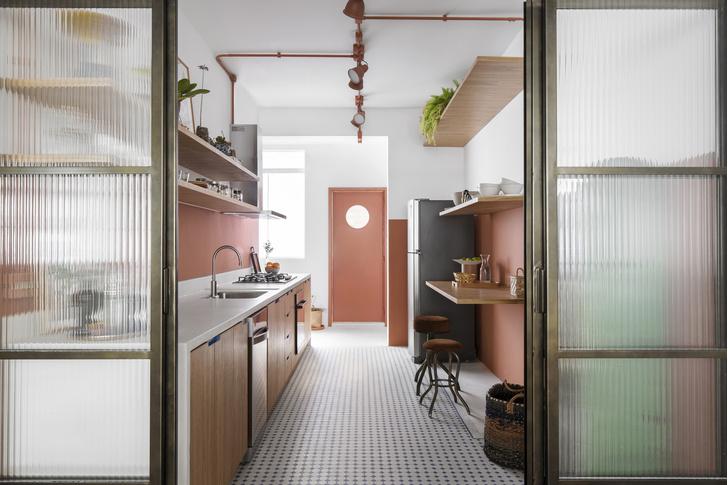 Фото №7 - Квартира с зеленой перегородкой в Сан-Паулу