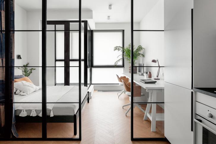 Фото №8 - Яркая квартира 30 м² для молодой пары, работающей из дома