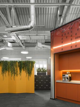 Фото №4 - Digital-интерьер для офиса IT-подразделения банка