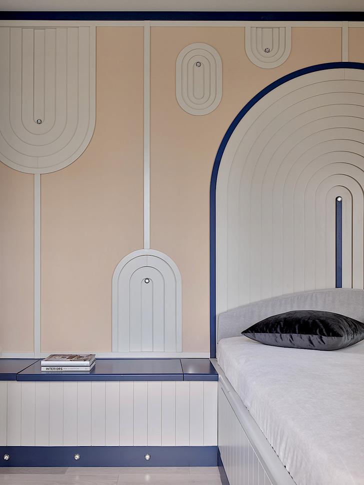Фото №9 - Квартира 105 м² с необычным дизайном и арочными окнами на ЗилАрт