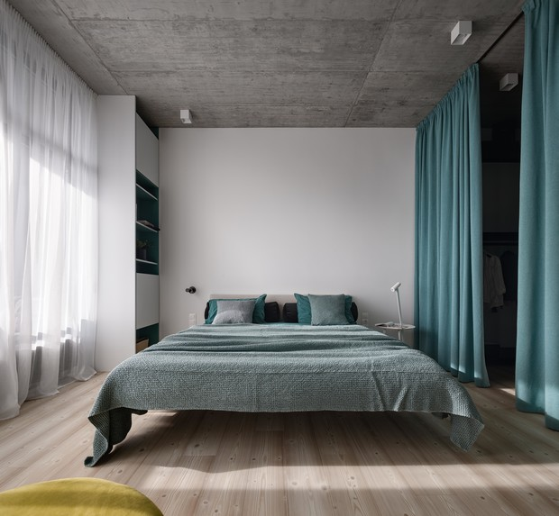 Фото №13 - Бетон + яркие акценты: квартира 166 м² в Кривом Роге