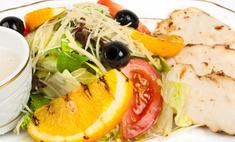 Рецепт сочного салата из курицы с апельсинами