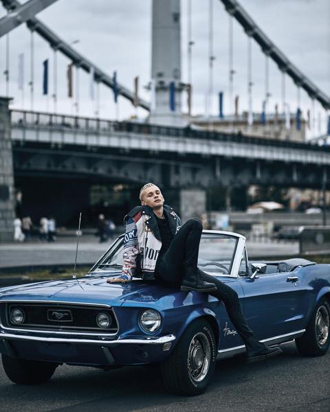 Фото №2 - Как одеться в стиле панк-рок: показывает Даня Милохин
