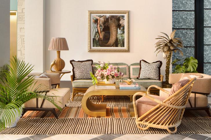Фото №11 - The Goodtime Hotel: атмосферный отель в Майами по дизайну Кена Фалка