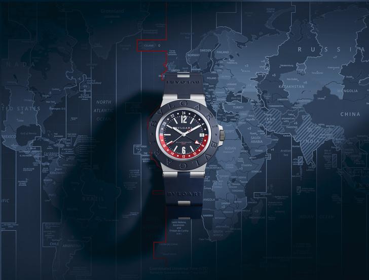 Фото №4 - Новые Bvlgari Aluminium GMT, на которые можно положиться в любом часовом поясе