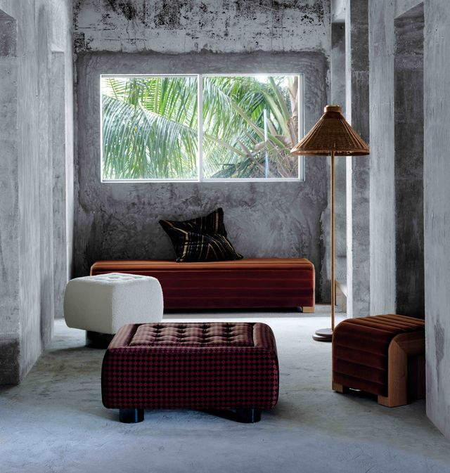 Фото №4 - Коллекция мебели и аксессуаров Ленни Кравица