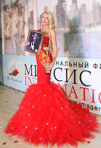 В Ростове выбрали самую красивую женщину страны
