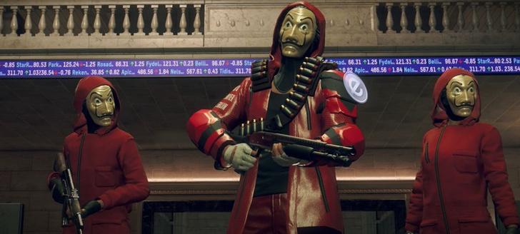 Фото №2 - Игра Watch Dogs: Legion выпустила коллаборацию с сериалом «Бумажный дом»