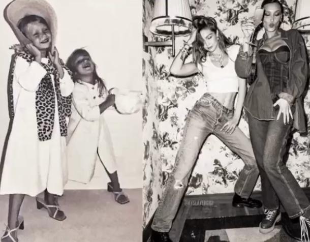 Фото №10 - 40 доказательств любви: редкие фото, которыми поздравили Беллу Хадид ее мама и сестра