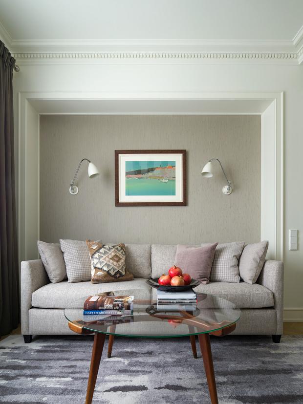 Фото №4 - Светлая квартира 58 м² с винтажной мебелью в Москве