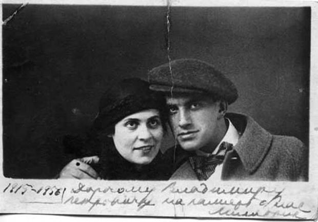 Лиля Брик и Владимир Маяковский фото