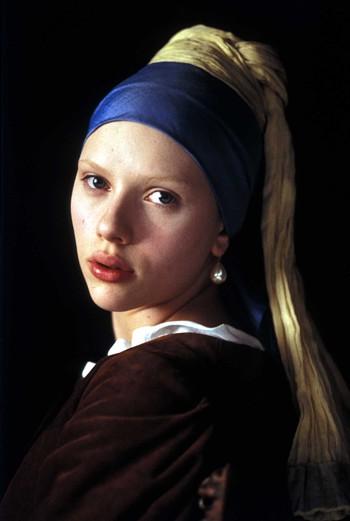 Скарлетт Йоханссон (Scarlett Johansson) в фильме «Девушка с жемчужной сережкой»