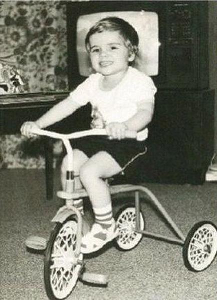 Илья Глинников в детстве, фото