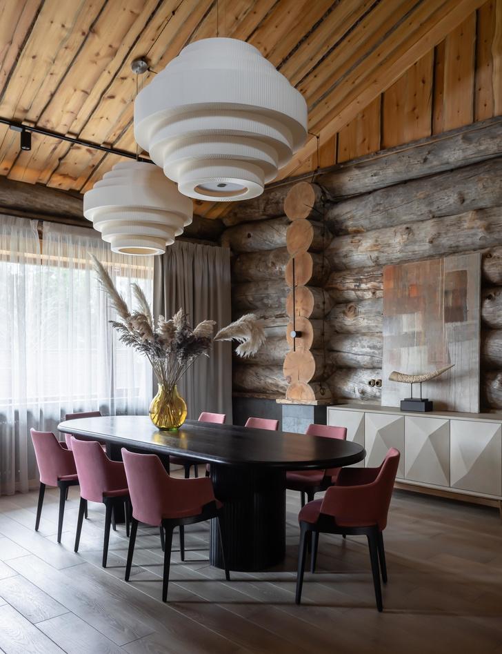Фото №11 - Деревянная баня с высокотехнологичным дизайном в Подмосковье