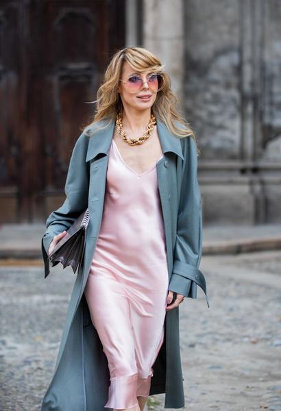 Платье-комбинация 2021